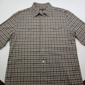 John Varvatos Men's Long Sleeve Button Down Shirt